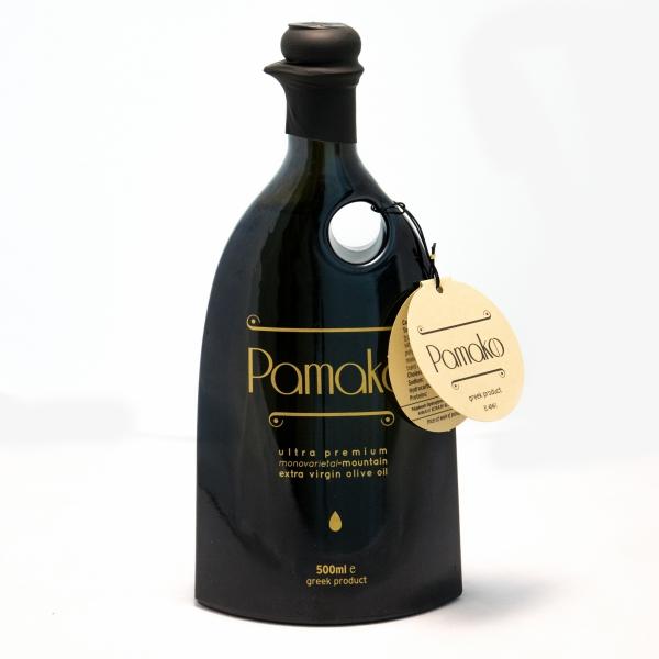 Pamako - Μονοποικιλιακό Εξαιρετικό Παρθένο Ελαιόλαδο Βιολογικό