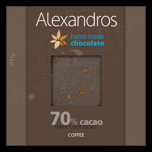 Alexandros - Σοκολάτα Yγείας με Kαφέ