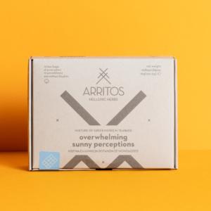 Arritos - Overwhelming Sunny Perceptions Μείγμα Ελληνικών Βοτάνων, 12 μονοδόσεις