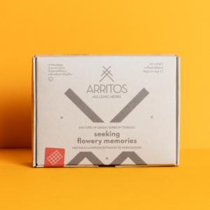 Arritos - Seeking Flowery Memories Μείγμα Ελληνικών Βοτάνων, 12 μονοδόσεις