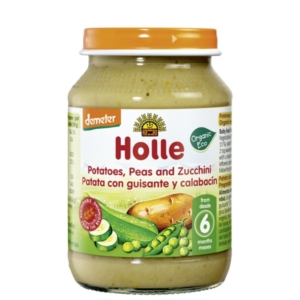 Holle - Πατάτες, Μπιζέλια και Κολοκυθάκια