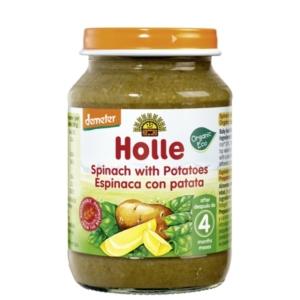 Holle - Βιολογικό Βαζάκι Λαχανικών με Σπανάκι & Πατάτες