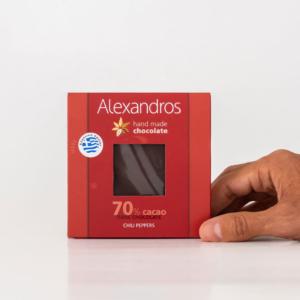 Alexandros - Σοκολάτα Υγείας με Τσίλι