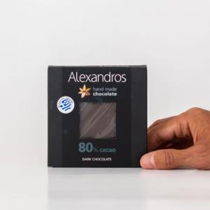Alexandros - Σοκολάτα Υγείας 80% Κακάο