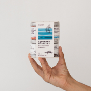 Salt Odyssey - Ελληνική Έκδοση, Ένα ταξίδι με αλάτια