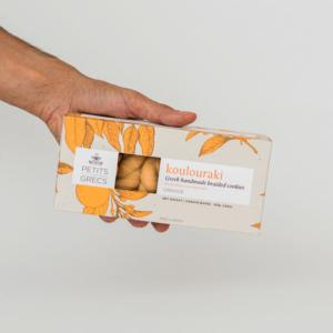 Petits Grecs - Κουλουράκι με Πορτοκάλι