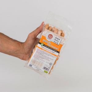 Oikopal - Βιολογικά Κουλουράκια Πλεξούδα Πορτοκαλιού