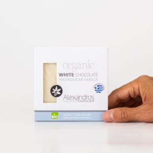 Alexandros - Βιολογική Σοκολάτα Λευκή