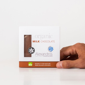 Alexandros - Βιολογική Σοκολάτα Γάλακτος