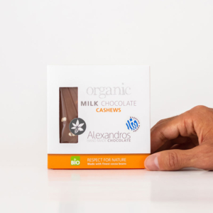 Alexandros - Βιολογική Σοκολάτα Με Κάσιους