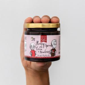 The Bee Bros - Κρέμα Μελιού με Φράουλα & Κακάο
