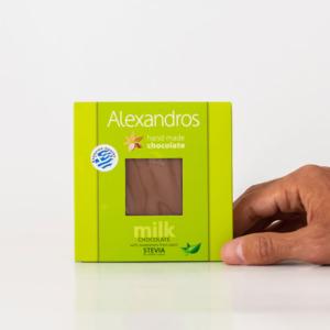 Alexandros - Σοκολάτα Γάλακτος Στέβια