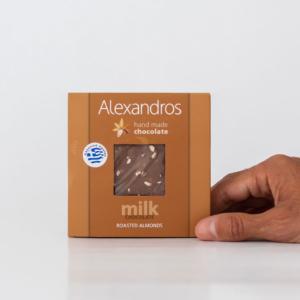 Alexandros - Σοκολάτα Γάλακτος Αμύγδαλα