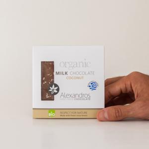 Alexandros - Βιολογική Σοκολάτα Με Καρύδα