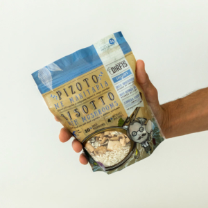 Δίρφυς - Ριζότο με Μανιτάρια