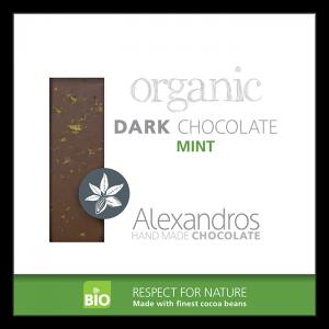 Alexandros - Βιολογική Σοκολάτα Με Μέντα