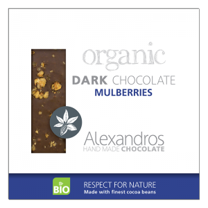 Alexandros - Βιολογική Σοκολάτα με Άσπρα Μούρα