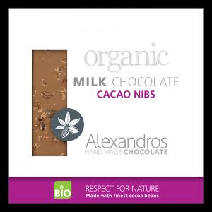 Alexandros - Βιολογική Σοκολάτα Με Καρπούς Κακάο