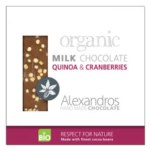 Alexandros - Βιολογική Σοκολάτα Με Κινόα