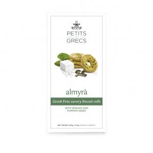 Petits Grecs - Αλμυρά Μπισκότα με Φέτα και Σπανάκι
