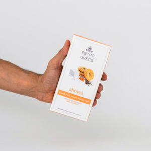 Petits Grecs - Αλμυρά Μπισκότα με Φέτα και Κουρκουμά