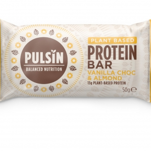 Pulsin - Μπάρα Πρωτεΐνης με Vanilla Choc και Αμύγδαλα