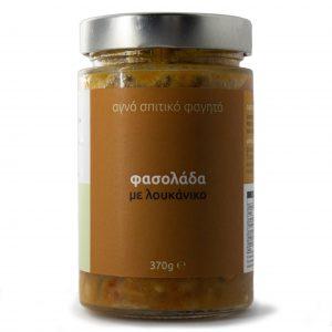 Yiam - Φασολάδα με λουκάνικο
