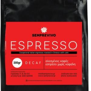 Semprevivo - Καφές Espresso Decaf