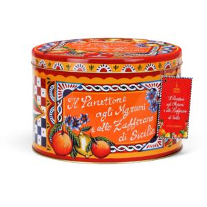Dolce & Gabbana - Panettone με Εσπεριδοειδή & Σαφράν σε Κόκκινο Κουτί, 1kg