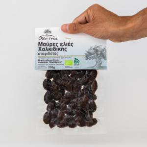 Olea Tree - Βιολογικές Μαύρες Ελιές, Σταφιδάτες