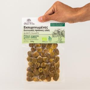 Olea Tree - Βιολογικές Εκπυρηνωμένες Πράσινες Ελιές
