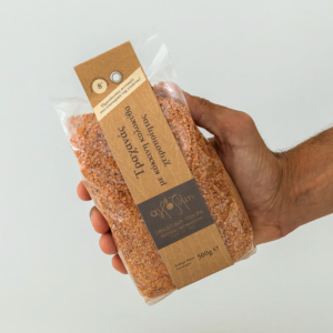 Αγροζύμη - Τραχανάς με Kόκκινη Kολοκύθα