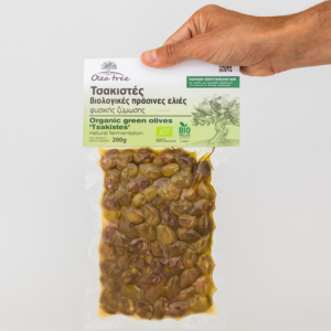 Olea Tree - Βιολογικές Πράσινες Ελιές Τσακιστές