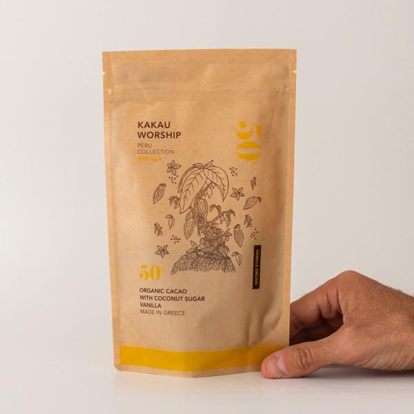 Kakau - Οργανική Σκόνη Κακάο Vanilla Orchid