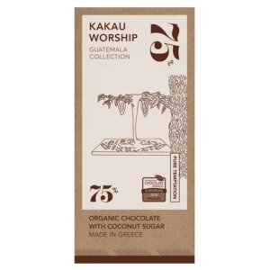 Kakau - Οργανική Σοκολάτα Pure Temptation, Γουατεμάλα