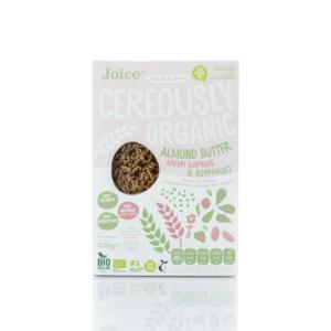 Joice - Βιολογικά Δημητριακά με Αμυγδαλοβούτυρο