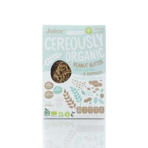 Joice - Βιολογικά Δημητριακά με Φυστικοβούτυρο