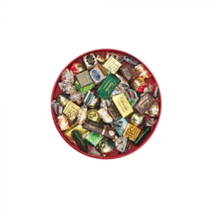 Venchi - Assorted Chocolates in a Hatbox-Style Gift Box