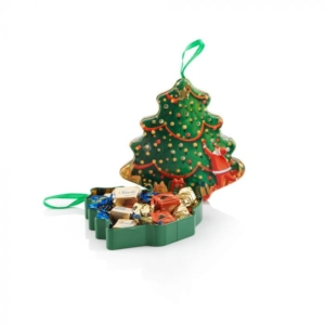 Venchi - Assorted Chocolates in a Metal Tree Gift Box