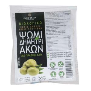 Βιοαγρός - Βιολογικό Ψωμί Δημητριακών με Πράσινη Ελιά Χωρίς Γλουτένη