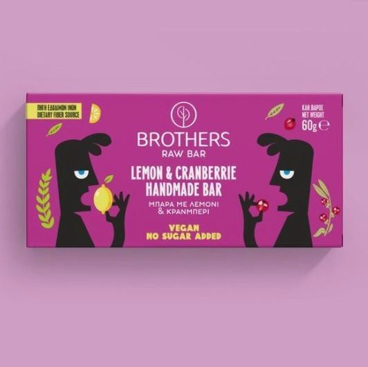 Brothers - Μπάρα με Λεμόνι & Cranberries