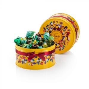Venchi - Assorted Chocolates in Autumn Hatbox