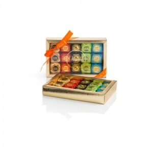 Venchi - Assorted Chocoviar Chocolates in a Gold Gift Box
