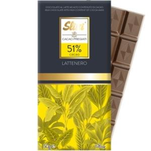 Slitti - Σοκολάτα LatteNero 51% Κακάο