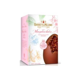 Baratti & Milano - Πασχαλινό Αυγό με Αμύγδαλα & Σοκολάτα Γάλακτος, 370g