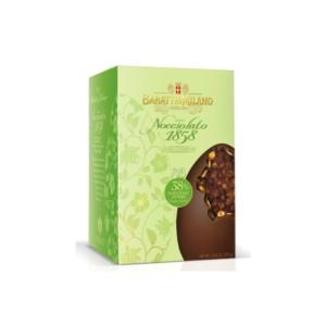 Baratti & Milano - Πασχαλινό Αυγό με Φουντούκια & Μαύρη Σοκολάτα, 370g