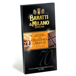 Baratti & Milano - Σοκολάτα με Αμύγδαλα και Πορτοκάλι