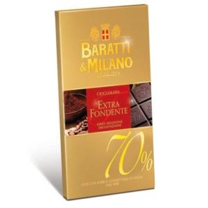 Baratti & Milano - Σοκολάτα Extra Fondente 70%
