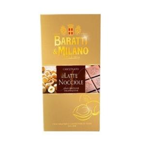 Baratti & Milano - Σοκολάτα Γάλακτος με Φουντούκια