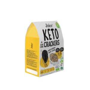 Joice - Βιολογικά Crackers με Μαύρο Σουσάμι